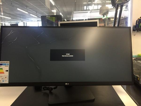 "LG Monitor 34UB67-B 34"" Inc TFT-LCD 21:9 AH-IPS 2560x1080 DVI Displayport Displaybruch"